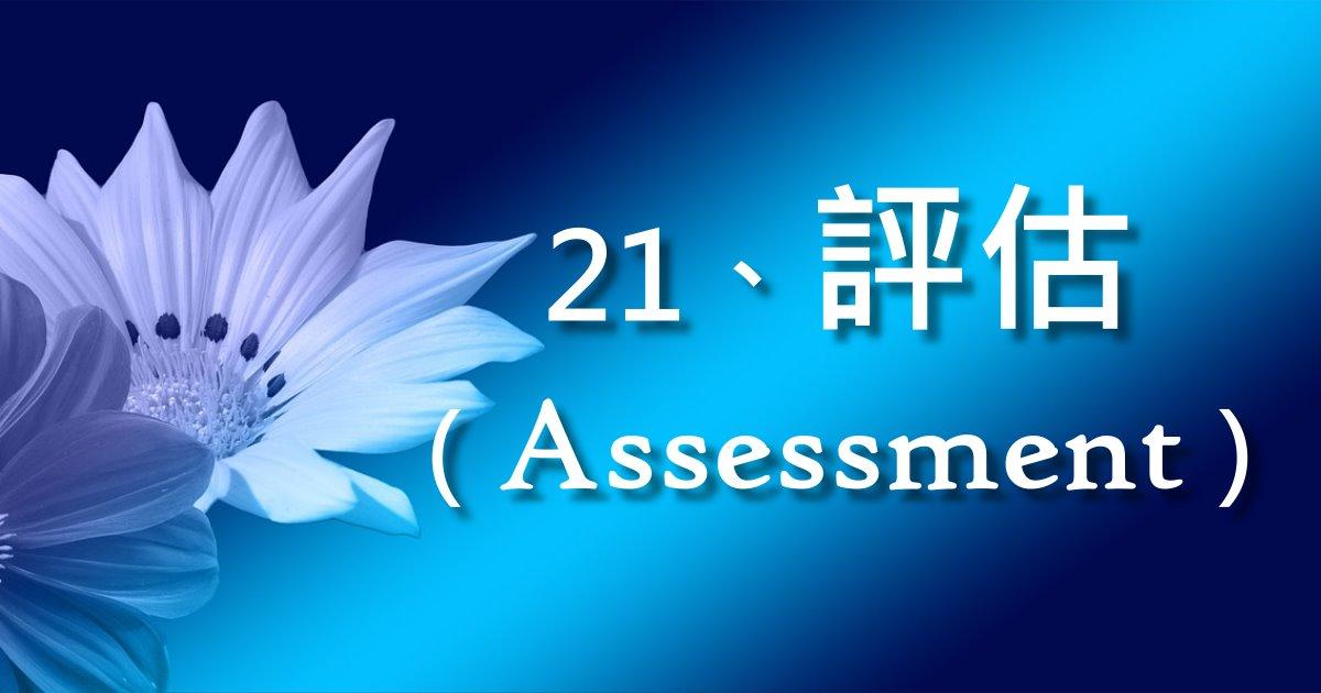 評估(Assessment)