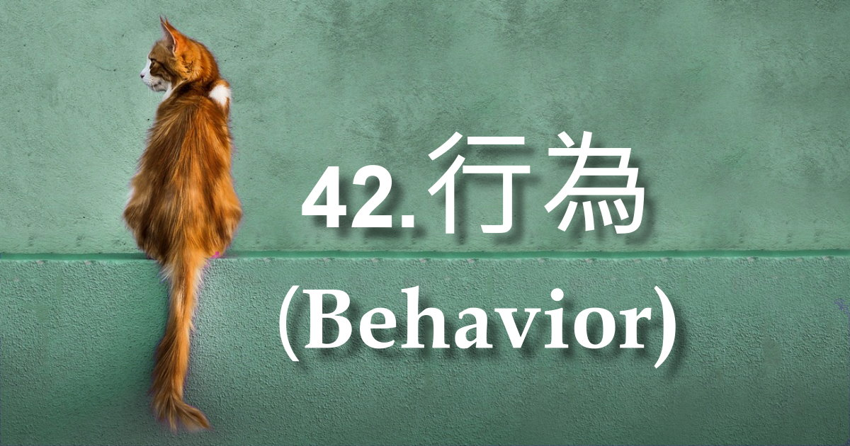 行為(Behavior)