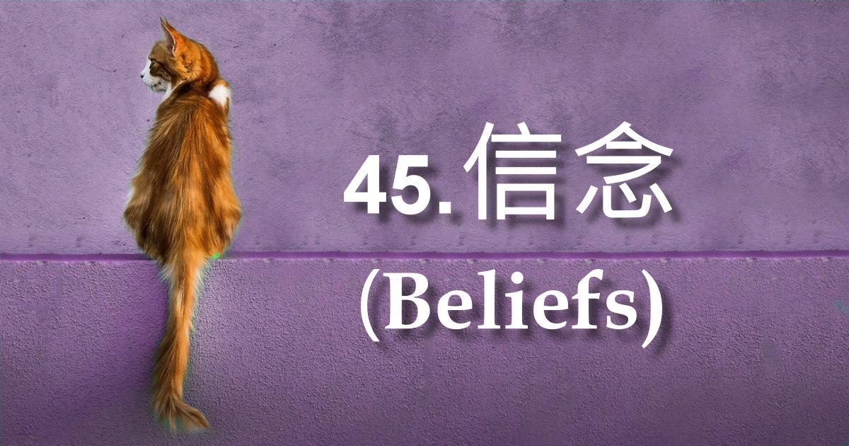 信念(Beliefs)
