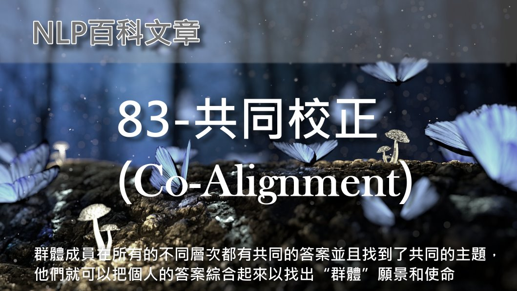 83-共同校正(Co-Alignment)