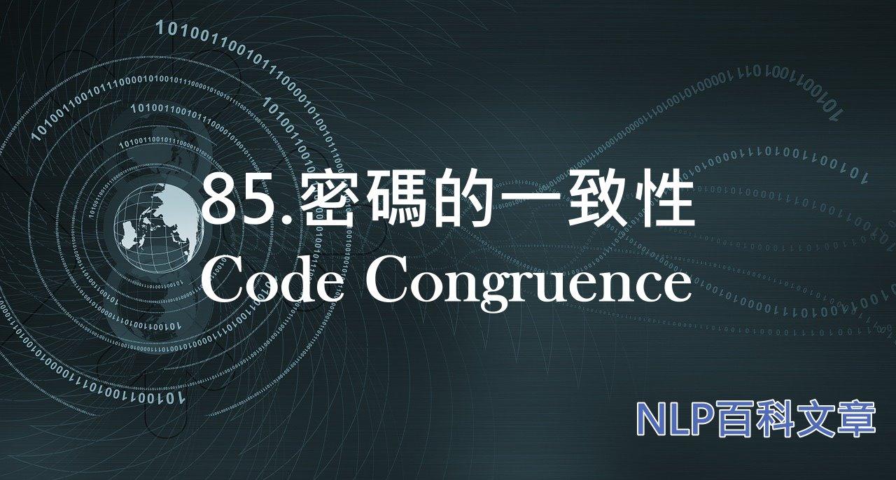 85. 密碼的一致性(Code Congruence)