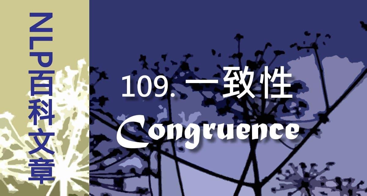 109-一致性(Congruence)