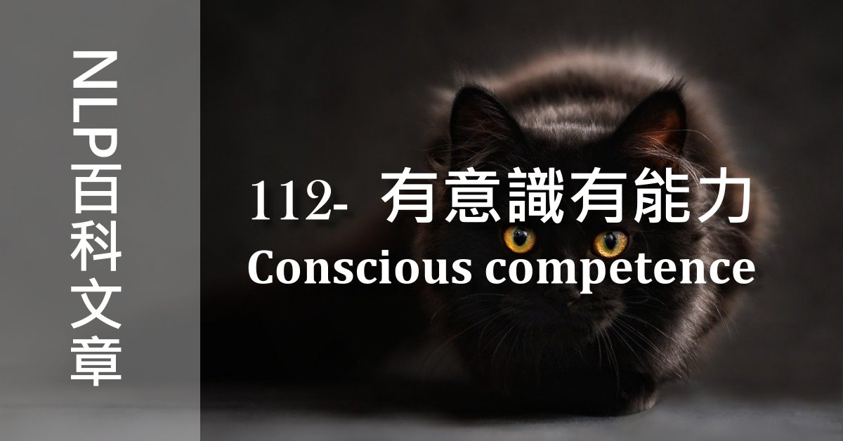 112-有意識有能力(Conscious competence)