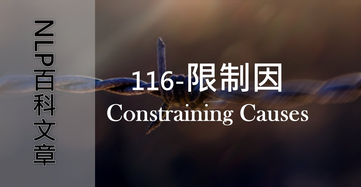 116-限制因(Constraining Causes)